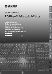 IM8-40/IM8-32/IM8-24 Owner's Manual