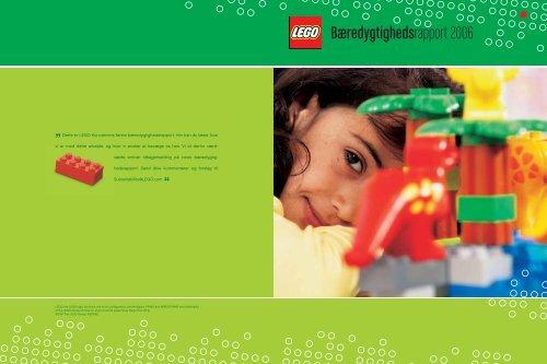 Bæredygtighedsrapport 2006 - Lego