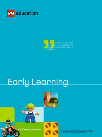 Early Learning - Lego