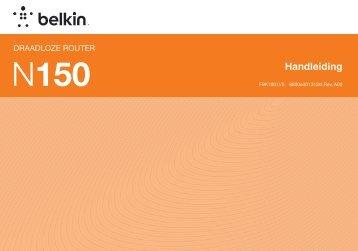 Handleiding - Belkin