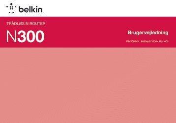 Brugervejledning - Belkin