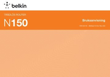 Bruksanvisning - Belkin