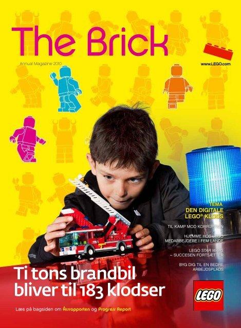 Ti tons brandbil bliver til 183 klodser - Lego