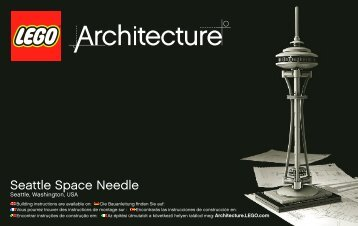 Seattle Space Needle - Lego