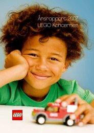 Årsrapport 2007 LEGO Koncernen