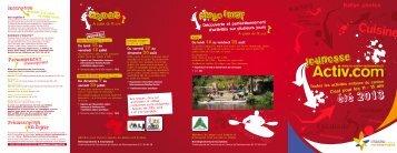 Activités - Communauté de Communes du Canton de Rocheservière