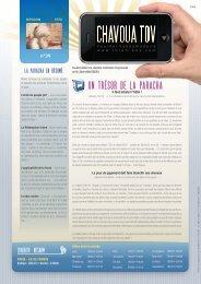 Télécharger le PDF Chavoua Tov Nitsavim 5770 - Torah-Box.com