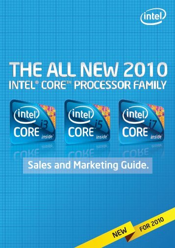 Sales and Marketing Guide. - Intel
