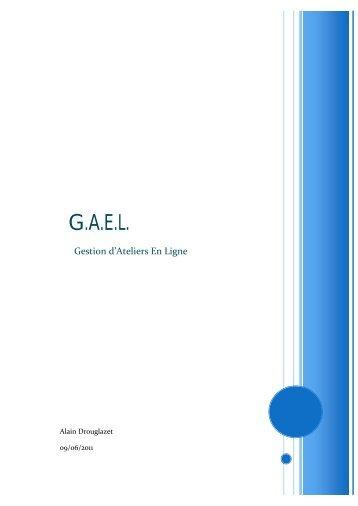 Gael Atelier gael.aldrou.fr magazines