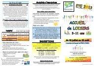 Centre de Loisirs Enfants des vacances d'été 2013 - Communauté ...