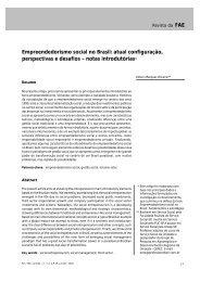Empreendedorismo social no Brasil - Unioeste