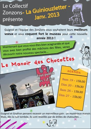 Le Manoir des Chocottes - Guignol de Lyon