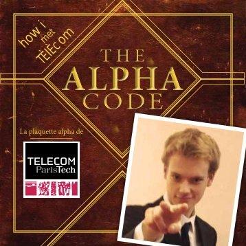 La plaquette alpha 2012 - Télécom ParisTech