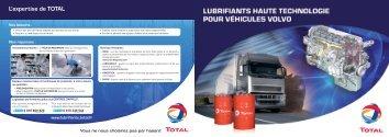 Volvo - Total Lubrifiants Fuel Economy