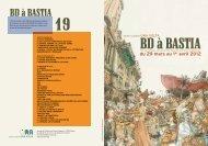 le programme de BD à Bastia 2012 - Jaime-la-corse.info