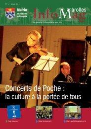InfoMag 14 BAT.pdf - Site officiel de la mairie de Marolles-en-Hurepoix
