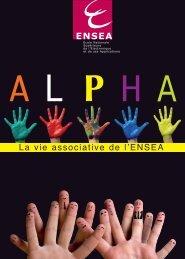 Plaquette ALPHA Vie étudiante et associative - ENSEA