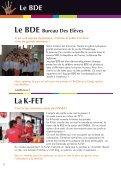 Plaquette ALPHA Vie étudiante et associative - ENSEA - Page 6