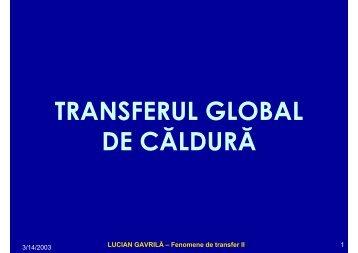 LUCIAN GAVRILĂ – Fenomene de transfer II - Cadre Didactice