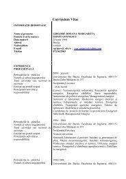 Şef lucr. dr. ing. Roxana Grigore - Cadre Didactice
