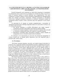 management - Cadre Didactice