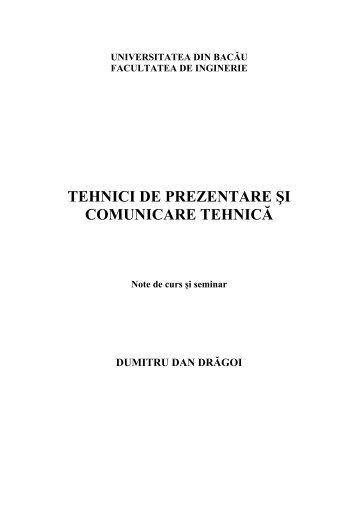 curs-tehnici-de-prezentare-si-comunicare-tehnica - Cadre Didactice