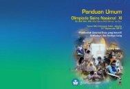 buku Panduan OSN XI - Direktorat Jenderal Pendidikan Dasar