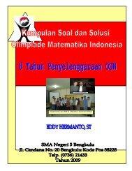Soal Bahas OSN SMA 2002-2009