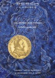collection jean poncet - Besch Cannes Auction