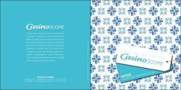 """""""CasinoScopie Collections Printemps-Été 2013 ... - Groupe Casino"""