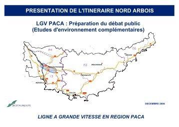 14.3.11 Itinéraire Nord Arbois - Commission nationale du débat public