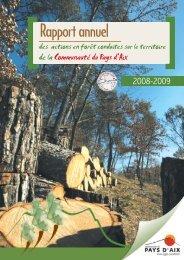 BAT 24 juillet 2009_ RA Forêt 2008-2009_Autrement Dit.indd