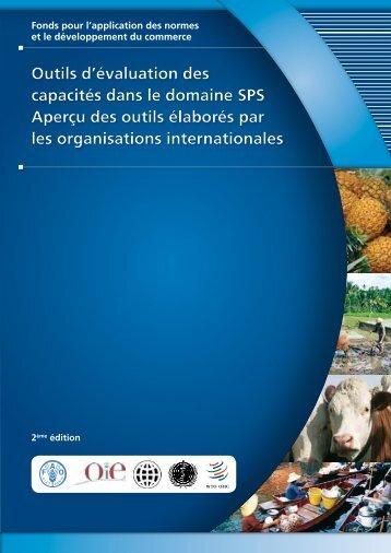 Outil d'évaluation des capacités phytosanitaires - Standards and ...
