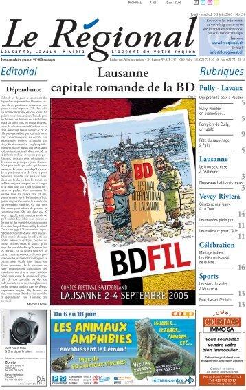 Télécharger l'édition n°278 au format PDF - Le Régional