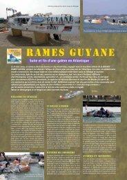 RAMES GUYANE - Fusiliers marins et commandos ma