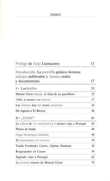 trabajos publicados y fuentes orales y documentales 1
