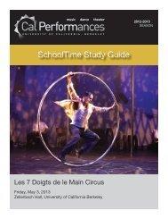 Les 7 Doigts de la Main Circus - Cal Performances - University of ...