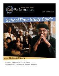 Afro-Cuban All Stars - Cal Performances - University of California ...