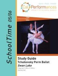 Tchaikovsky Perm Ballet Swan Lake - Cal Performances - University ...