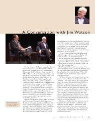 A Conversation with Jim Watson - Engineering & Science - Caltech