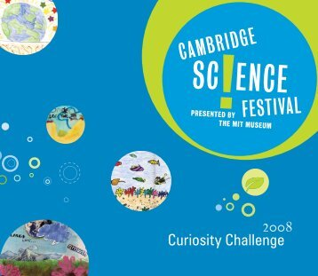 Curiosity Challenge - Cambridge Science Festival