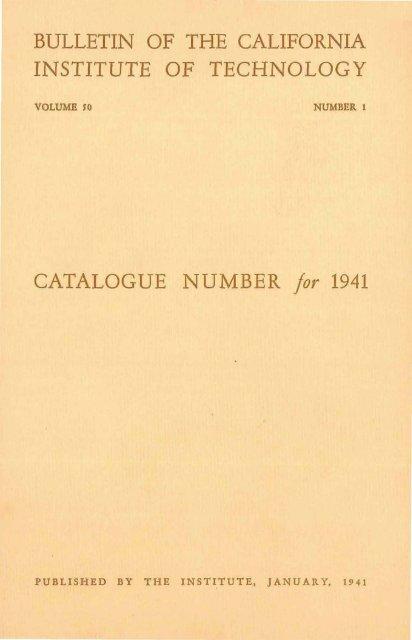 Pdf 1941 Caltechcampuspubs