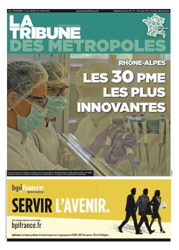 pôle innovation - La Tribune