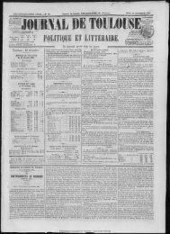 23 décembre 1858 - Bibliothèque de Toulouse