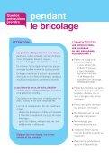 Bricolage : les précautions à prendre - Inpes - Page 4