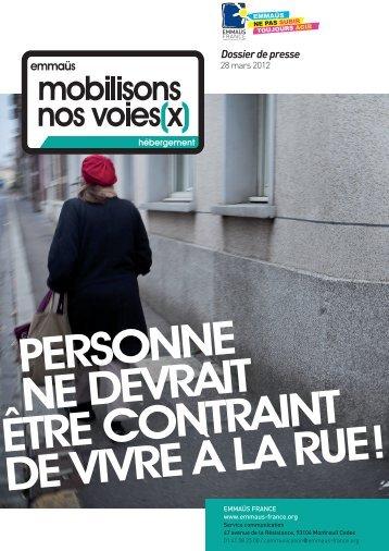 Dossier de presse - Emmaüs France