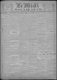 16 janvier 1913 - Bibliothèque de Toulouse