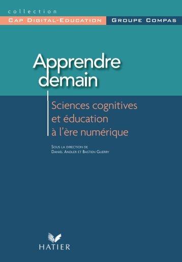 Sciences cognitives et éducation - Daniel Andler - Ens