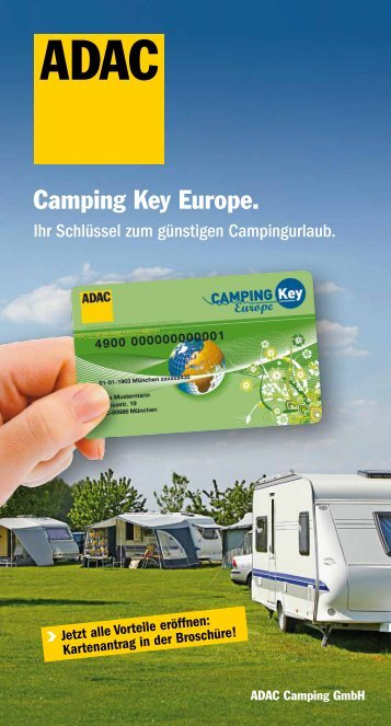 CKE Broschüre.pdf - ADAC Camping-Caravaning-Führer