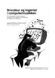 Musikkens bricoleurer - Menneske.dk